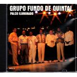 Cd Grupo Fundo De Quintal   Palco Iluminado