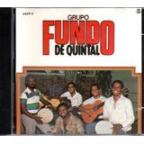 Cd Grupo Fundo De Quintal   Samba É No Fundo De Quintal