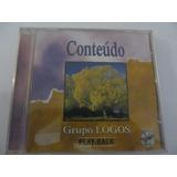 Cd Grupo Logos   Conteúdo   Play backs   Original