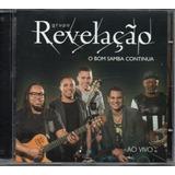 Cd Grupo Revelação   O Bom Samba Continua   Jbm