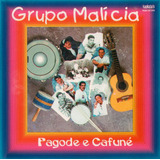 Cd Grupo Samba Malícia Pagode E Cafuné 1994 Usado