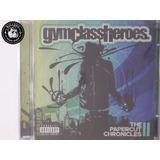 Cd Gym Class Heroes The Papercut Chronicles   Lacrado   C3