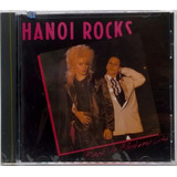 Cd Hanoi Rocks Back To Mystery City 1989 Importado Lacrado