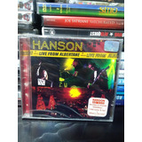 Cd Hanson Live From Albertane Novo Lacrado Original