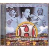 Cd Harmonia Do Samba   Da Capelinha Para Mundo Ao Vivo