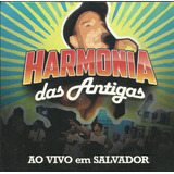 Cd Harmonia Do Samba Das Antigas Vivo Salvador Ed Promo 2016