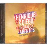 Cd Henrique E Diego   De Braços Abertos