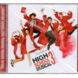 Cd High  School Musical 3   Trilha Sonora