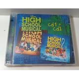 Cd High School Musical 1 E 2   Usado