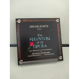 Cd Highlights From The Phantom Of The Opera  importado  1987