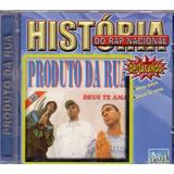 Cd História Do Rap Nacional   Uma Peça