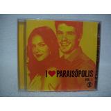 Cd I Love Paraisópolis  Volume 1