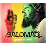 Cd Igual A Você   Cd Salomão   Cd Reggae Gospel
