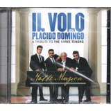 Cd Il Volo   With Placido Domingo   Notte Magica   Cd dvd