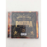 Cd Importado Pantera   Official Live 101 Proof