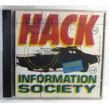 Cd Information Society Hack Funk Melody Freestyle Raro