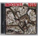 Cd Inocentes Ruas 1996 Lacrado Paradoxx Music 12 Faixas