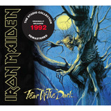 Cd Iron Maiden   Fear Of The Dark  1992     Remastered   Emb