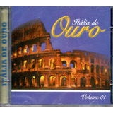 Cd Itália De Ouro   Volume 1