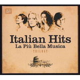 Cd Italian Hits   La Piu Bella Musica Trilogy  3 Cds