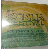 Cd Jack Johnson & Friends   Best Of Kokua Festival
