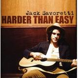 Cd Jack Savoretti Harder Than Easy