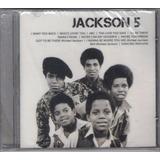 Cd Jackson 5 Icon Original E Lacrado