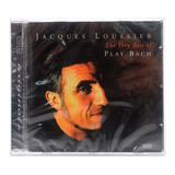 Cd Jacques Loussier   The Very Best Of Play Bach   Importado