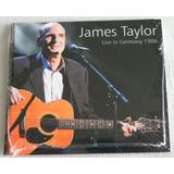 Cd James Taylor Live In Germany 1986 Digipack Lacrado Raro