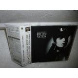 Cd Janet Jackson   Rhythm Nation 1814 1989 Japônes
