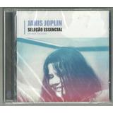 Cd Janis Joplin Seleção Essencial 14 Faixas Sony Lacrado