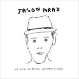 Cd Jason Mraz   We Sing  We Dance  We Steal Things   Novo