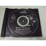 Cd Jazz Benny Goodman   Carnegie Hall Concert I