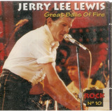 Cd Jerry Lee Lewis   Great Balls Of Fire   Novo Lacrado