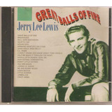 Cd Jerry Lee Lewis   Great Balls Of Fire 1993