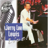 Cd Jerry Lee Lewis   Live    Novo Deslacrado