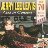Cd Jerry Lee Lewis   Live In Concert   Novo Deslacrado