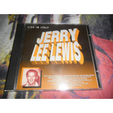 Cd Jerry Lee Lewis Live In Italy