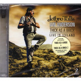 Cd Jethro Tulls Thick As A Brick   Live In Iceland Cd Duplo