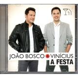 Cd João Bosco E Vinícius   A Festa