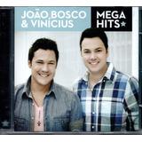 Cd João Bosco E Vinícius   Mega Hits