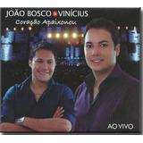 Cd João Bosco E Vinicius Coração Apaixonou Original Lacrado