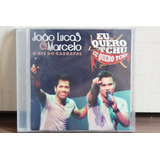 Cd João Lucas & Marcelo   O Hit Do Carnaval  achados