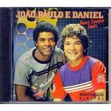 Cd João Paulo E Daniel   Amor É Sempre Amor Vol 1 Orig Lacra