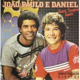 Cd João Paulo E Daniel   Amor Sempre Amor