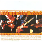 Cd Joe Jackson   Live In New York   Summer In The City