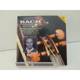 Cd Johann Sebastian Bach   Concertos For Violin & Oboe