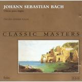 Cd Johann Sebastian Bach   Obras Para Orgao   Semi Novo