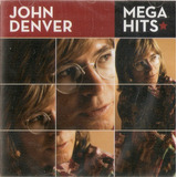 Cd John Denver   Mega Hits   Novo Lacrado