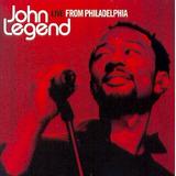 Cd John Legend   Live From Philadelphia